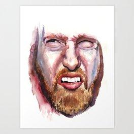 Bleh. Art Print
