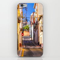 spain iPhone & iPod Skins featuring Spain by Nskey