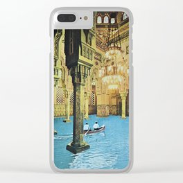 Chamber of Reflection Clear iPhone Case