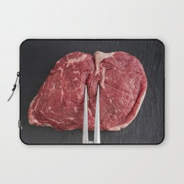 Rib eye steak Laptop Sleeve