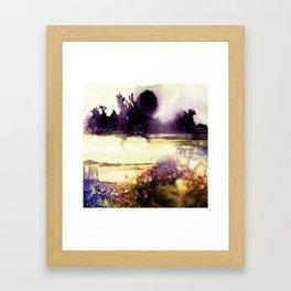 Firefly Meadow Framed Art Print