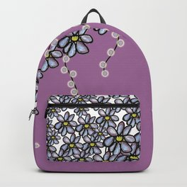 Over Flowers: Purple + Lights Backpack