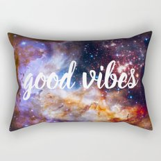 Good Vibes Hubble Space Photo Carina Star Cluster Rectangular Pillow