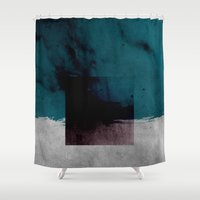 venom Shower Curtains featuring Venom by SUBLIMENATION