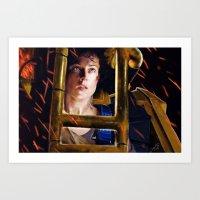 ripley Art Prints featuring Ripley by DandyBee