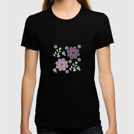 Wild Flowers in Lavender 2 T-shirt