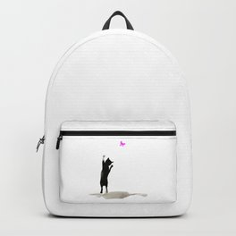 I Love Cats No. 8 by Kathy Morton Stanion Backpack