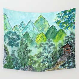 Emerald Woods Wall Tapestry