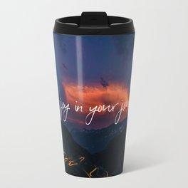 Find joy in your journey Travel Mug