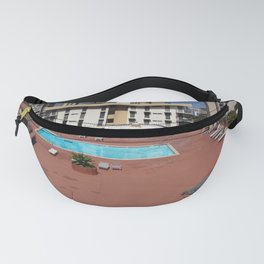 Deco Hotel Roof Pool Fanny Pack