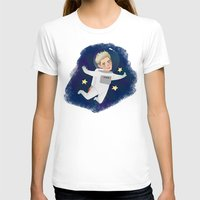 niall T-shirts featuring Space Niall by Ashley R. Guillory
