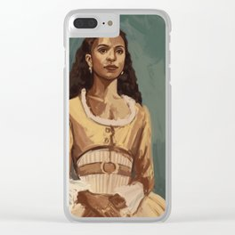 Angelica Clear iPhone Case