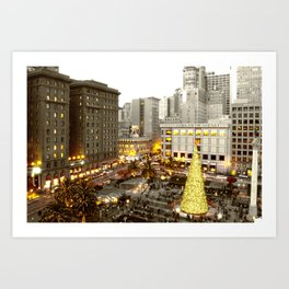 A Very SF Christmas Art Print