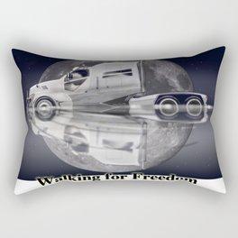 Star Truck - The moon and the Truck Rectangular Pillow