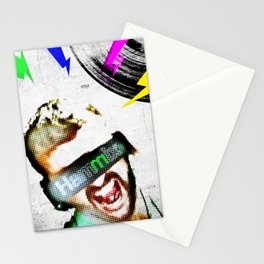 DJ Hammix - The Beat is the Law Stationery Cards