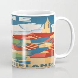 Vintage poster - Berne Coffee Mug