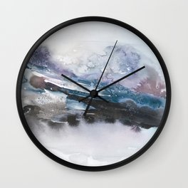 the beauty of impermanence II Wall Clock