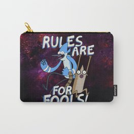 Regular Show - Rules are for Fools Carry-All Pouch