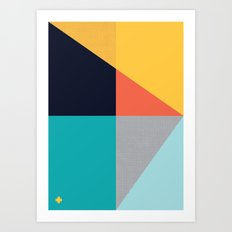 ALBION SUNBELT 1 Art Print
