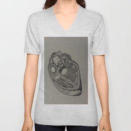 Heart Dissection Unisex V-Neck