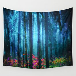 Magicwood #Night Wall Tapestry