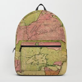 Map of North America by Kitchin, Mitchell and Millar (1755) Backpack