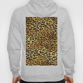 Leopard Skin Camouflage Pattern Hoody