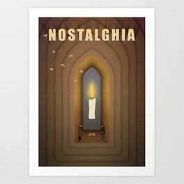 Andrei Trakovsky: Nostalghia Art Print