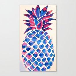 Summer Pineapple #society6 #spring Canvas Print