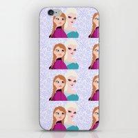 frozen iPhone & iPod Skins featuring Frozen by Sammycrafts