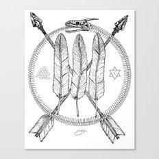 Ouroboros Logos Canvas Print