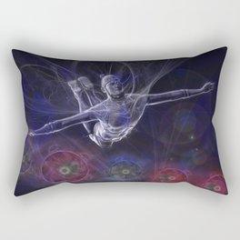Galactic Acrobat Rectangular Pillow