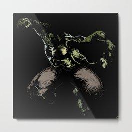 The Hulk Metal Print