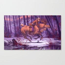 King of the Forest - Metsän Kuningas Canvas Print