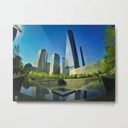 One World Trade Center Metal Print