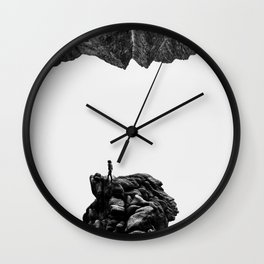 Isolate Me Wall Clock