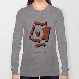 LOOKS LIKE FRIED CHICKEN Long Sleeve T-shirt