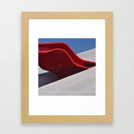 Auditorio ON Framed Art Print