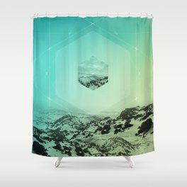 A Place Called Elsewhere Shower Curtain