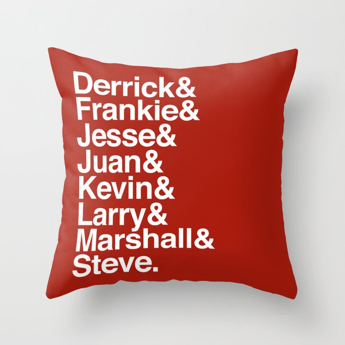 Pioneers Throw Pillow