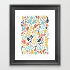 Forest Flora Framed Art Print