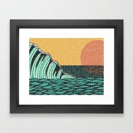 Sunrise V Framed Art Print