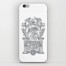 Satanic Rock iPhone Skin