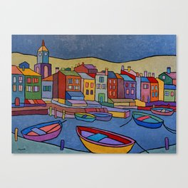 Port in Spain Canvas Print