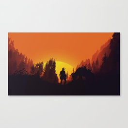 Wild hunt Canvas Print