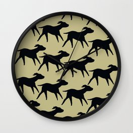 Dogs Design Wall Clock