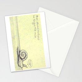 Snail Milk Stationery Cards