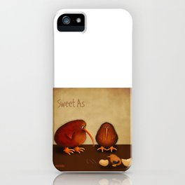 New arrival baby boy - sweet as iPhone Case