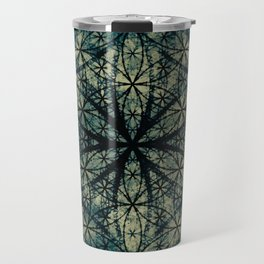 Sacred Geometry for your daily life -  ESOTERIC FLOWER OF LIFE Travel Mug