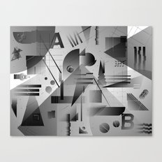 Gradients Canvas Print